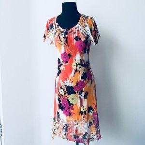 ❗️Anthropologie Cubism Floral Dress MSRP $148